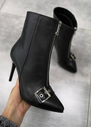 Дизайнерские ботинки из натуральной мягчайшей итальянской кожи