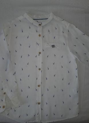 Рубашка zara 122