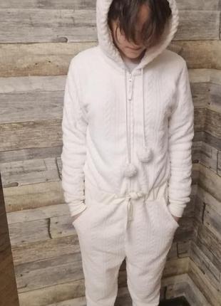 Пижама-слип, домашний слитный костюм, esmara, s, 36-38, 170 рост
