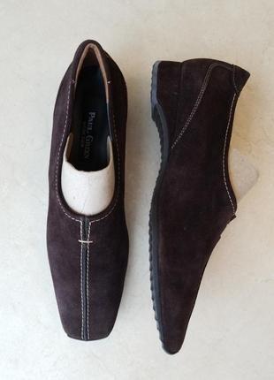 Обувь натур. замш