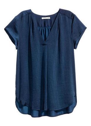Атласная блузка h&m 0401485001