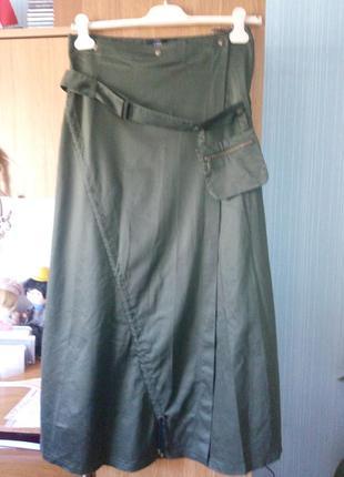 Оригинальная юбка-макси