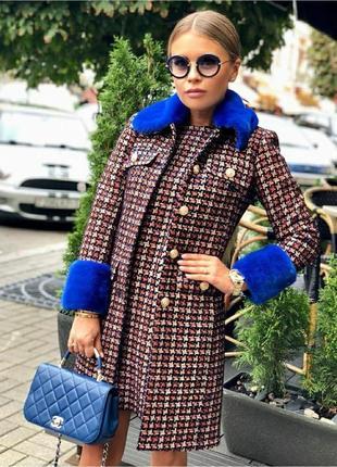 Пальто +платье комплект