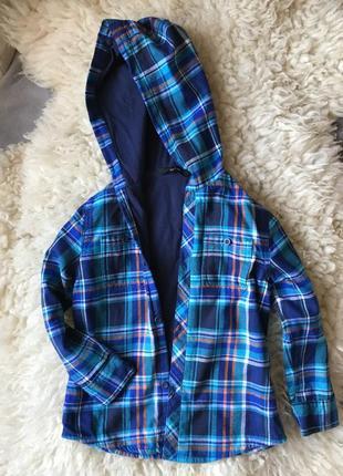 Класна стильна сорочка на 3/4 роки