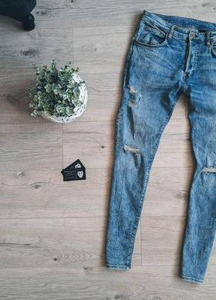 Крутые вареные джинсы skinny denim