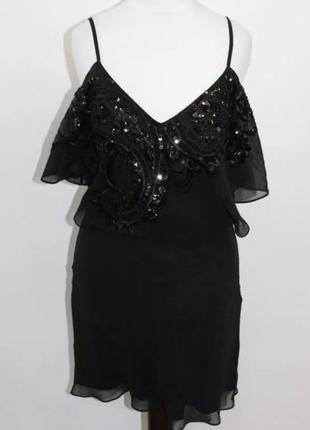 Платье вечернее шелк karen millen