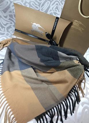 Кашемировый платок тёплый и мягкий