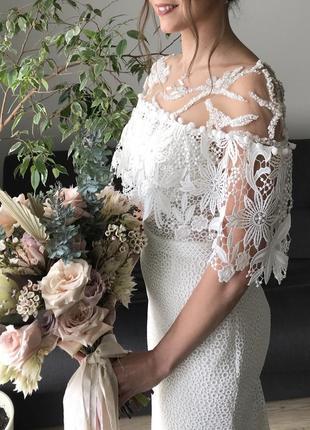 Свадебное платье в стиле бохо