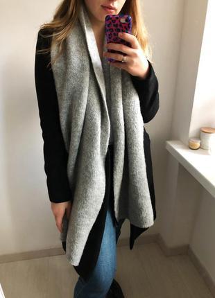 Объемный шарф zara