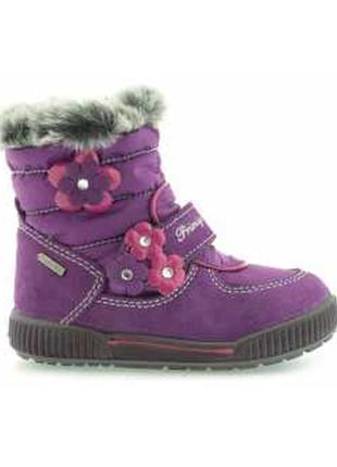 Новые зимние сапожки primigi размер 21 с gore-tex зимові сапоги чоботи