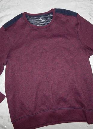 Свитшот модный мужской худи реглан толстовка свитер xl