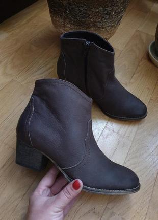 Ботинки из натуральной кожи 37рр