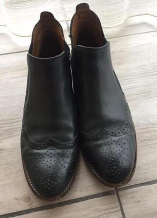 Ботинки кожа paul green стелька 24.5 см