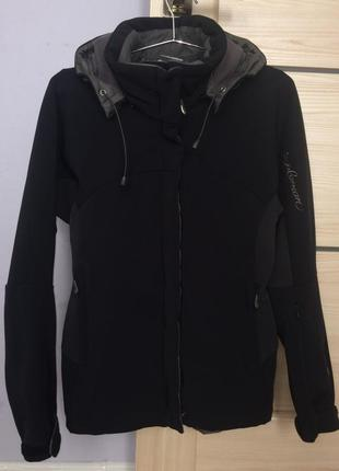 Брендовая термо куртка, софтшелл salomon