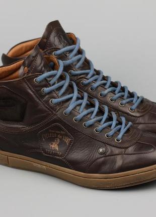 Фирменные кожаные кроссовки cycleur de luxe