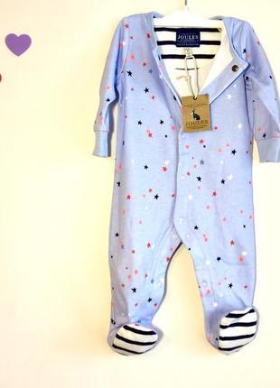 Человечек-комбинезон для малыша 3-6 месяцев от joules