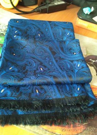 Великолепный винтажный шарф мужской, унисекс.