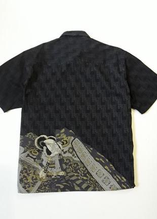 Стильная рубашка шведка тениска