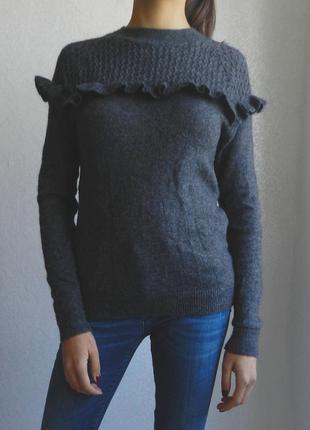 Невероятный шерстяной свитер! качество бомбезное