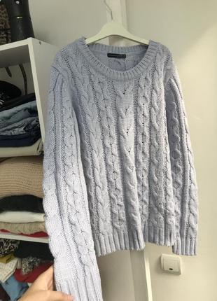 Лавандовый свитер
