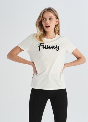 Женская футболка 1057н