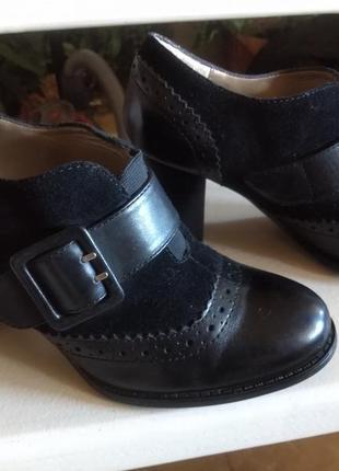 Демисезонные туфли / батильоны оксфорды из сша