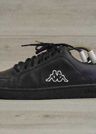 Мужские кожаные кроссовки фирмы kappa