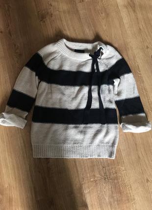 Стильный свитер с рукавом 3/4, topshop, размер с/м