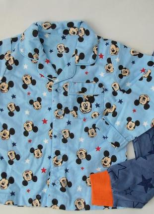 Пижама байка трикотаж 18-24 мес 92 см primark англия