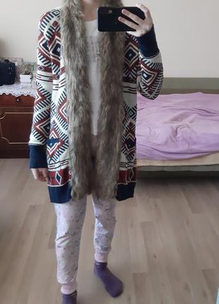 Отличный  модный кардиган  осень/зима