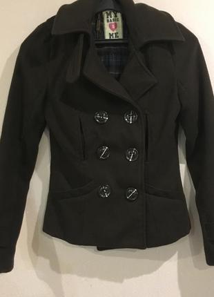 Кашемировое пальто шоколадного цвета