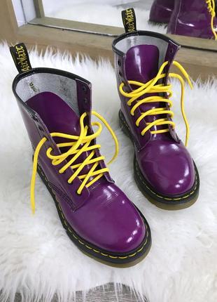 Крутейшие ботинки dr.martens в изысканном цвете!