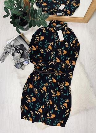 Плаття в квітковий принт від papaya🧡🧡🧡