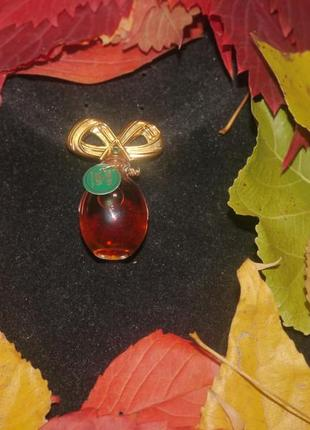 Винтажная миниатюра elizabeth taylor diamonds and emeralds + подарок