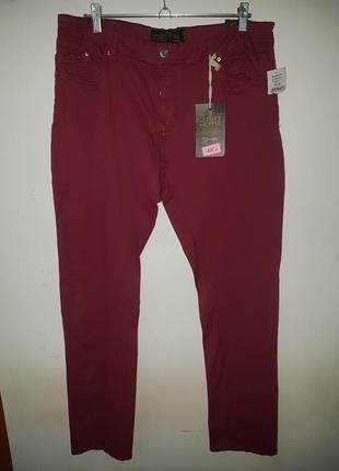 Распродажа - брендовые мужские штаны, скинни alcott, италия - 40 р-р - на 38