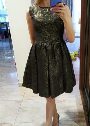Платье zara с биркой акцыя  !!!4 фото