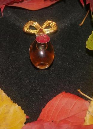 Винтажная миниатюра elizabeth taylor diamonds and rubies + подарок