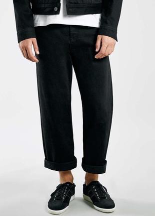 Стрейчевые стретч джинсы широконогие лим — next wide leg
