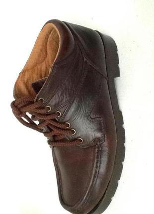 Кожаные ботинки португалия р.42