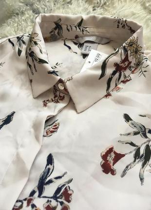Рубашка блуза приятная ткань