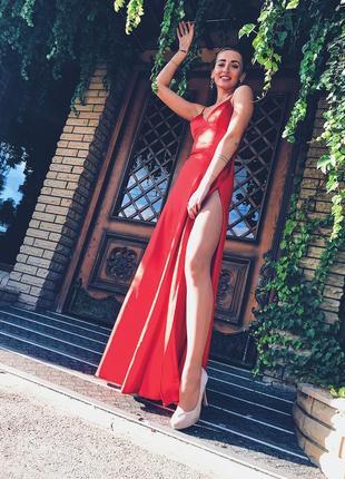 Красное платье!