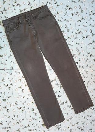 Акция 1+1=3 крутые темно-серые прямые джинсы levis оригинал, размер 50 - 52