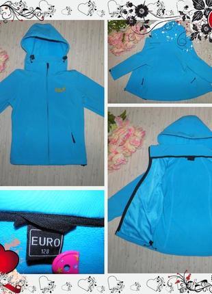 Обнова! куртка jack wolfskin (р.128 на 7-8років) курточка