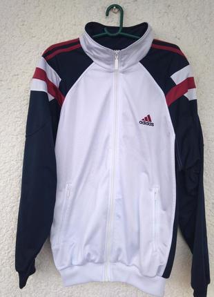 Кофта мастерка adidas винтаж xl адидас олимпийка