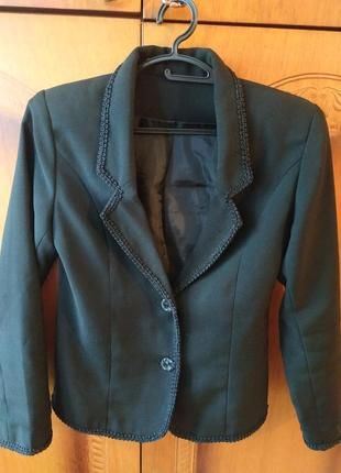 Комплект школьной формы, пиджак и юбки, рост 140-146 см