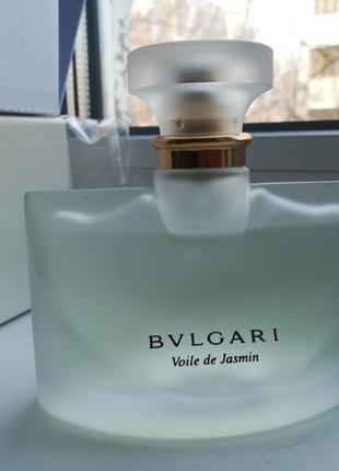 Оригинал 50 мл bvlgari voile de jasmine снятость