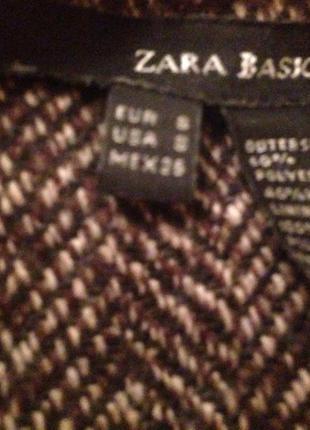 Классическое базовое пальто zara s/m3