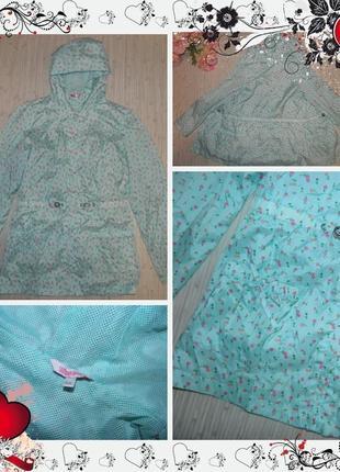 Обнова! куртка e-vie (р.158-164 на 13-14років) курточка плащ ветровка