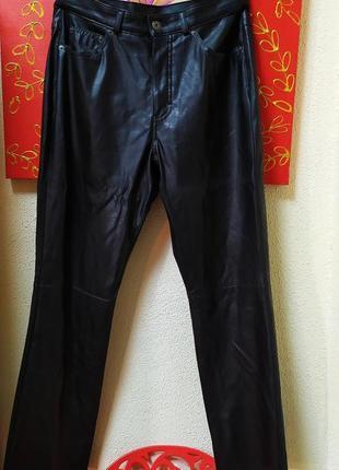 Кожанные py брюки