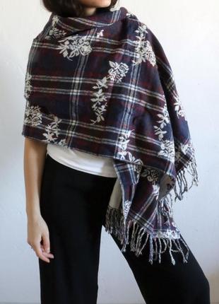 Большой уютный шарф